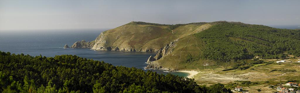 """<a href=""""http://es.wikipedia.org/wiki/Finisterre_(La_Coruña)"""">Cabo da Nave, Fisterra</a>  FotoStock Galicia"""